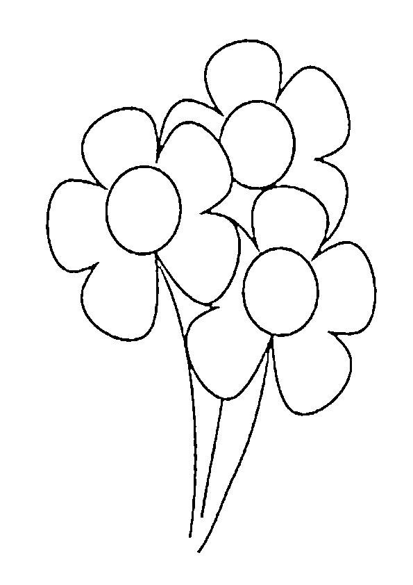 Dibujos de Flores Kawaii