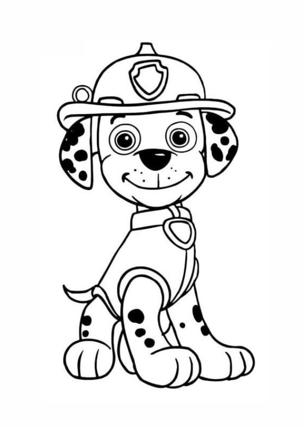 La patrulla canina Marshall