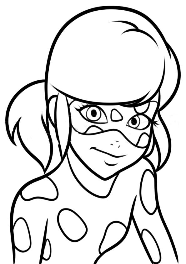 Dibujos para colorear Lady Bug