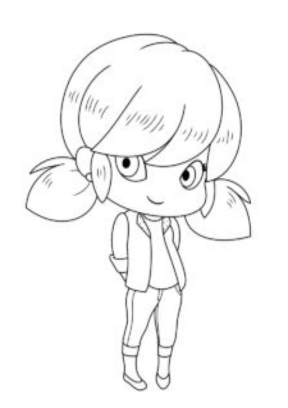 Dibujos para colorear Lady Bug Mini