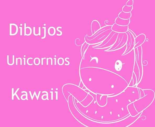 Ver dibujos unicornios kawaii