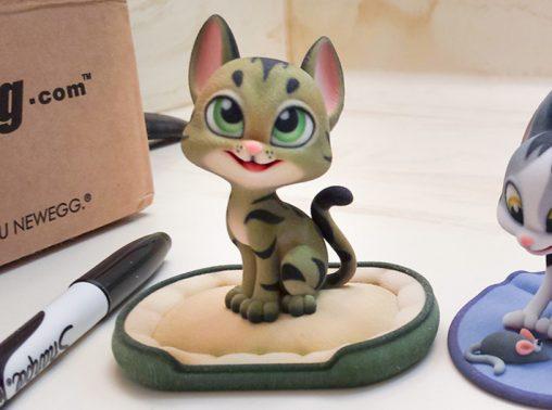 La impresión en 3D es Kawaii